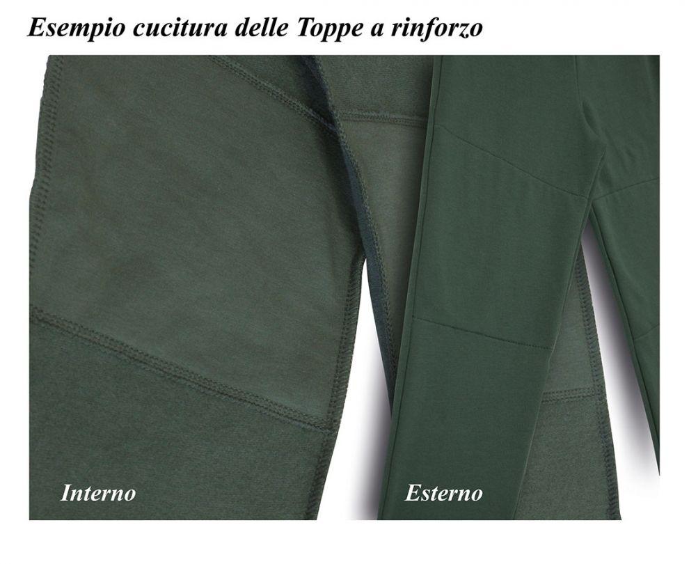 Pantalone pesante lungo con elastico caviglie coccobaby - Sacchetti folletto fp 140 ...
