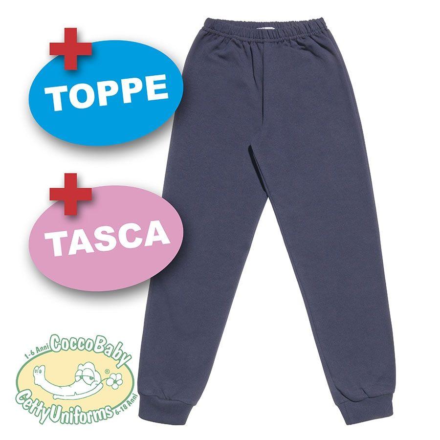 Pantalone leggero lungo con polsini coccobaby for Sacchetti folletto fp 140