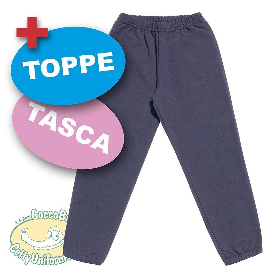 Pantalone leggero lungo con elastico caviglie coccobaby - Sacchetti folletto fp 140 ...