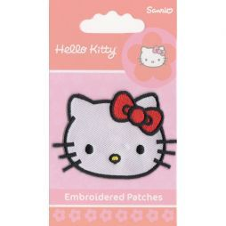 Patch ricamo termoadesivo Hello Kitty
