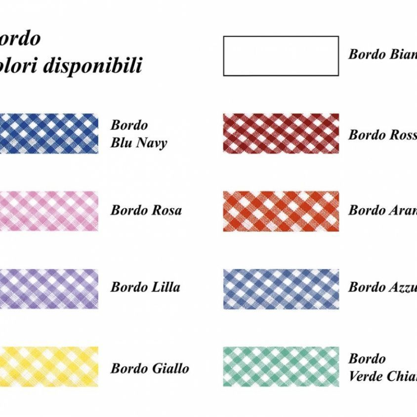 Colori di bordo disponibili