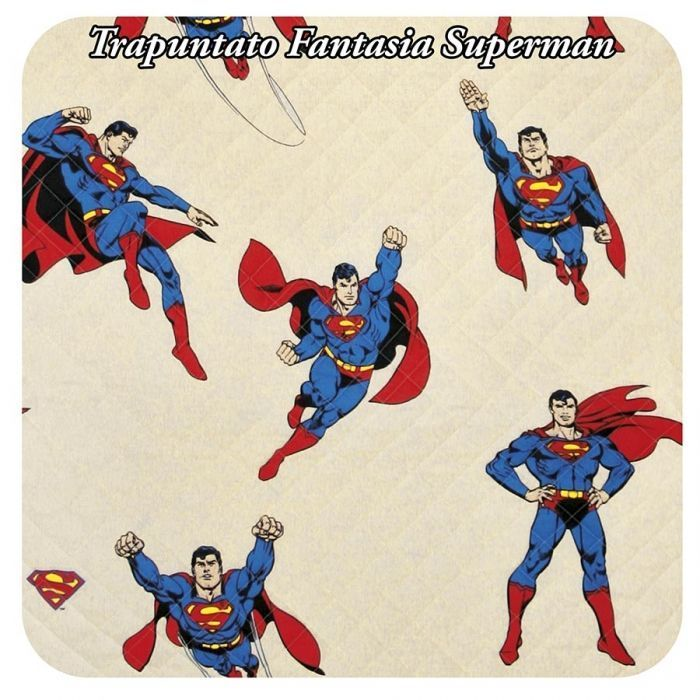 Fantasia Superman trapuntata