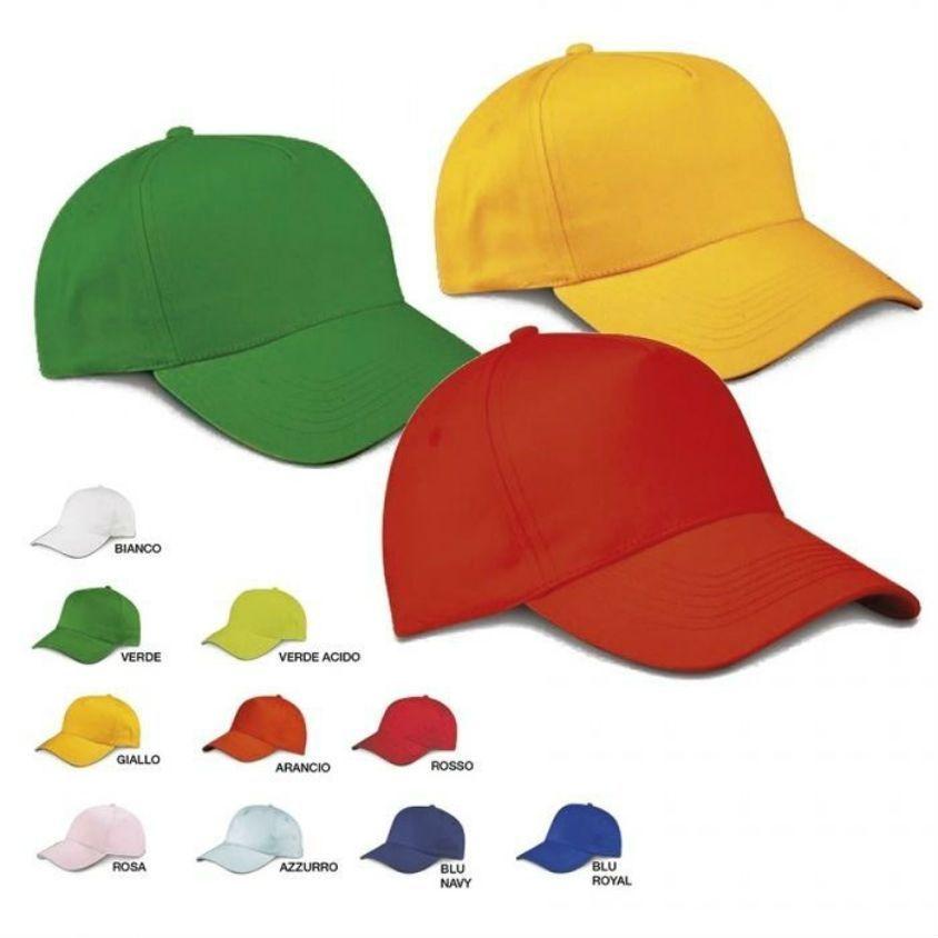 cappelli per bambini per attività scolastiche e campi estivi