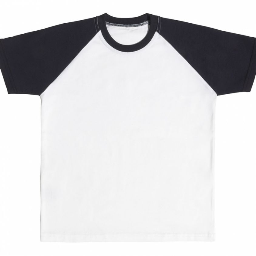 t-shirt in cotone bicolor per bambini - cetty coccobaby