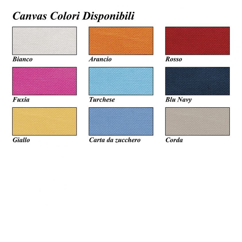 colori disponibili canvas