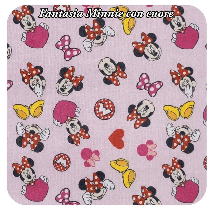 fantasia Minnie con cuore