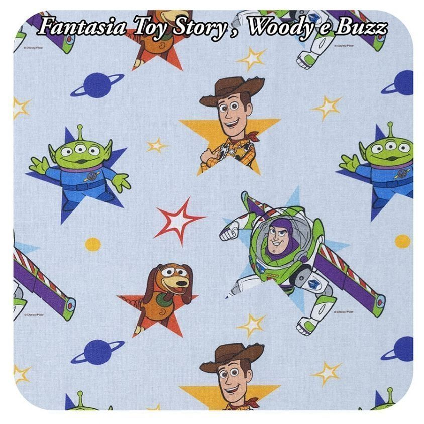 Fantasia Toy Story, Woody e Buzz su celeste