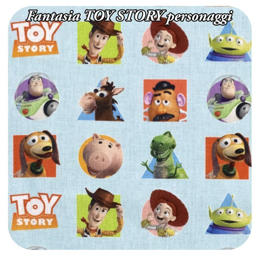 Fantasia TOY STORY personaggi