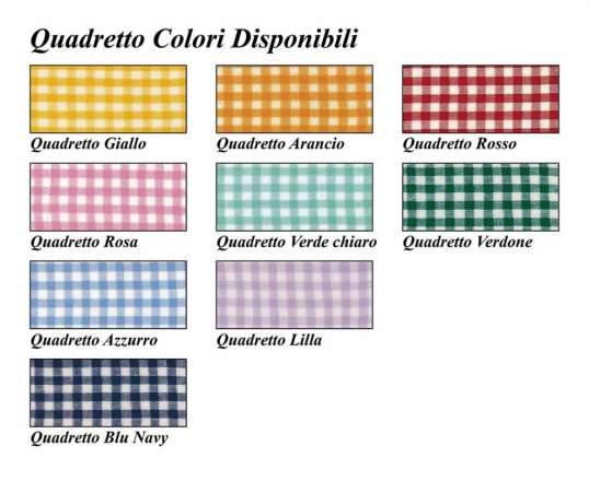 colori disponibili quadretto