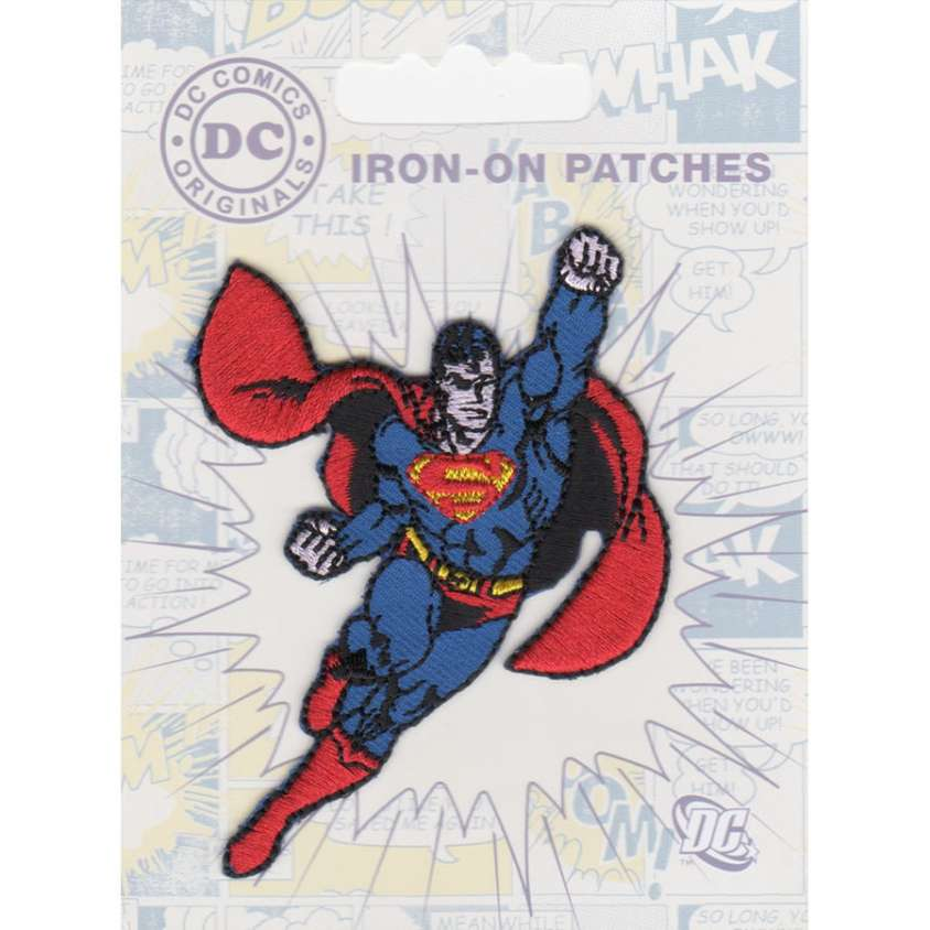 Patch ricamo termoadesivo Superman