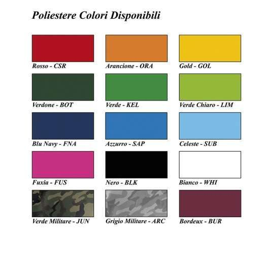 Nylon Colori Disponibili