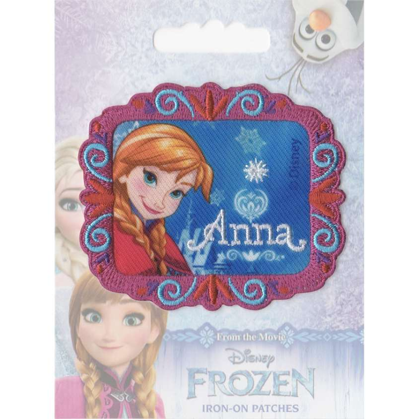 Patch ricamo Frozen 03
