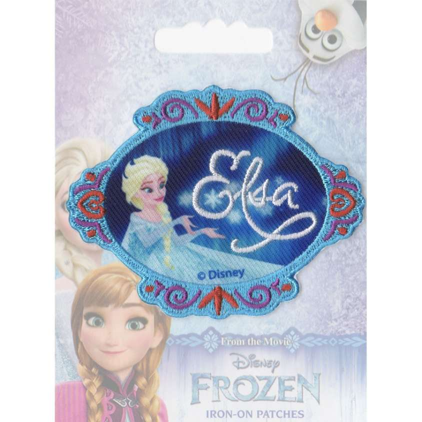 Patch ricamo Frozen 04