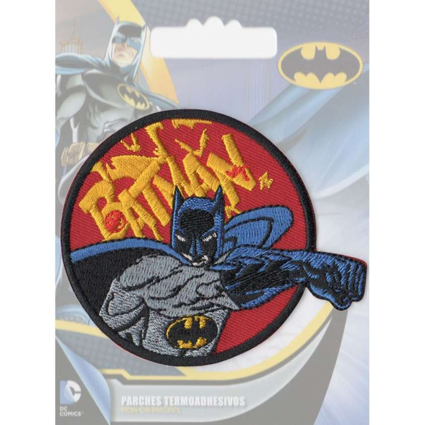 Patch ricamo Batman 02