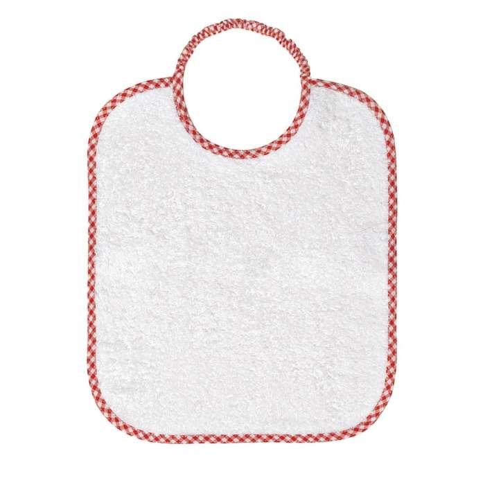 Asciugamani E Bavaglini Personalizzati.Bavaglini Con Elastico Asilo Coccobaby